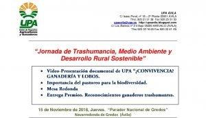 PROGRAMA JORNADA Trashumancia NAVARREDONDA DE GREDOS 15 11 2018 001 1