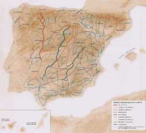 mapa espana 30 iconoTyN Trashumancia y naturaleza
