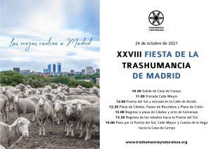 Fiesta de la trashumancia de madrid 2021